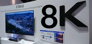 Nhật Bản phát sóng kênh truyền hình 8K đầu tiên trên thế giới